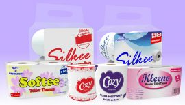 TOILET PAPER DIFFERENT BRANDS KSIL
