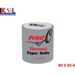 PRINT'O Thermal Paper Roll 80x60