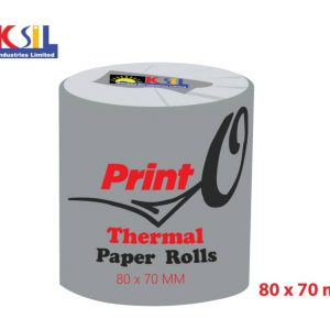PRINT'O Thermal Paper Roll 80x70