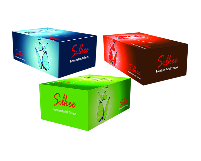 Silkee Premium Facial Tissue Products