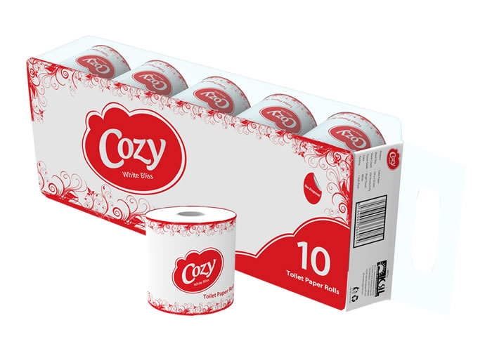 Cozy Toilet Paper 250 Sheet Products